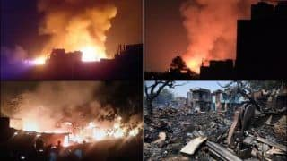 Twitter Sends Out Prayers After Fire at JJ Cluster Timber Market in Delhi's Kirti Nagar Destroys 200 Shanties