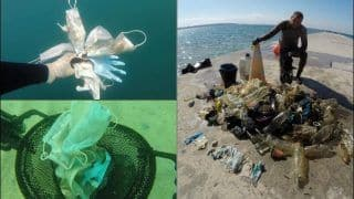 We Will Not Learn! French NGO Collects Masks-Gloves And Other Medical Waste in Mediterranean Sea-Bed Amid COVID-19