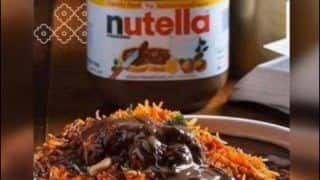 'Someone Kill me Please': Internet Cries Foul After 'Worst Food Combination' of 'Nutella Biryani' Surfaces