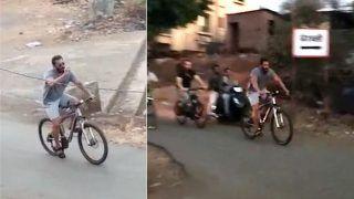 लॉकडाउन के बीच जैकलीन संगसाइकिलिंग का लुत्फ़ उठा रहे हैं सलमान खान