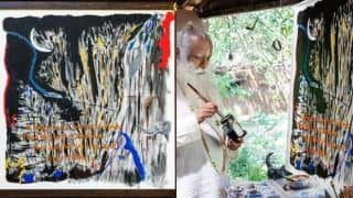 Sadhguru's Abstract Painting Gets Sold For Rs 4.14 Crore, Money to Fund Isha Foundation's COVID-19 Relief Efforts