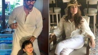 Kareena Kapoor Khan Shares Picture of Saif Ali Khan Giving Haircut to Taimur Ali Khan And it is The Best Thing on The Internet Today!