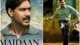 अजय देवगन के फैन्स के लिए बुरी खबर, गिराया गया फिल्म 'मैदान' का सेट, कुछ ही दिन की शूटिंग थी बाकी