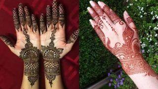 Mehndi Designs For Eid-Ul-Fitr 2020: Eye-Grabbing Latest Unique Arabic Mehndi Designs You Must Try This Festive Occasion