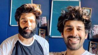 Kartik Aaryan Finally Shaves Off His Beard But Blames it on His Mother, Says 'Mummy Sahi Khel Gayi'