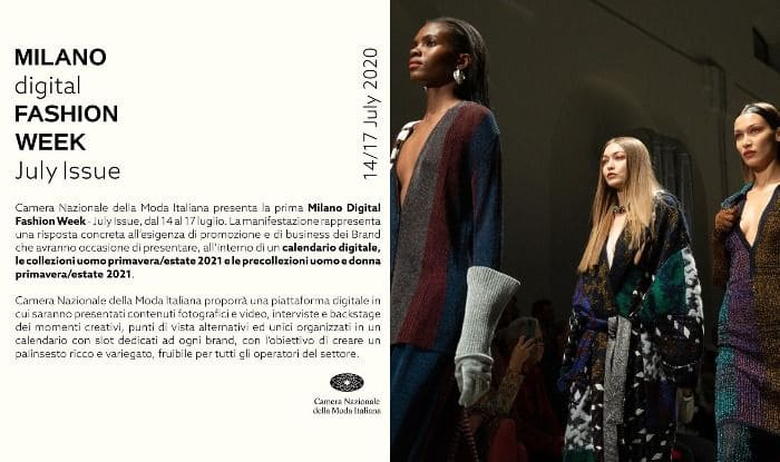 Covid 19 Forces Milan And Paris Fashion Weeks To Go Digital