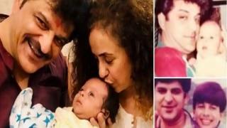 Shahid Kapoor's Stepfather Rajesh Khatter Introduces New Born Son Vanraj, See Photo