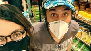 Shraddha Kapoor And Brother Siddhanth Kapoor Having Fun Time While 'Groceries Adventure' Wearing Mask, Gloves
