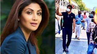 """Shilpa Shetty Lauds Sonu Sood: """"The Example You've Set Speaks Volumes of The Kind of Person You Are"""""""