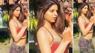 Suhana Khan's Sun-kissed Picture Flaunting Her Desi Avatar Will Set Your Screen Ablaze