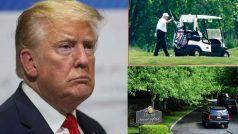 देश में लगा करीब एक लाख लोगों की मौत का अंबार, लेकिन टेंशन फ्री होकर गोल्फ खेलते दिखे डोनाल्ड ट्रंप
