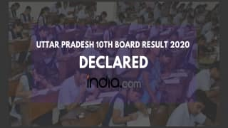 UP Board 10th Result 2020 Declared; Ria Jain Tops The Exam by Scoring 96.67% Marks