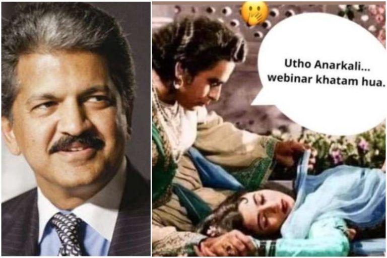 Anand Mahindra Shares Meme Showing His Frustration With Webinars, Calls It 'Webinarcoma'