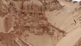 300-Year-Old Shiva Temple Buried in Sand Unearthed by Villagers in Andhra Pradesh's Nellore