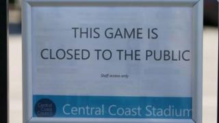 खिलाड़ी के कोविड-19 पॉजिटिव पाए जाने के बाद ऑस्ट्रेलियाई फुटबॉल लीग का मैच स्थगित