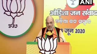Feel Sad at Pain of Migrants, Their Safety is Centre's Priority: Amit Shah at Odisha Jan-Samvad Rally