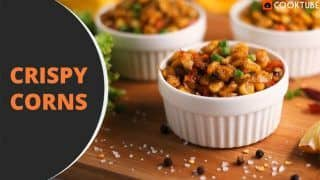 Easy Crispy Corns Recipe: How You Can Make This Italian Flavoured Appetiser at Home