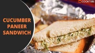 Cucumber Paneer Sandwich Recipe: Follow These Easy Steps to Make The Creamy Sandwich at Home