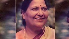 रेल मंत्री पीयूष गोयल की मां सीनियर बीजेपी नेता चंद्रकांता गोयल का मुंबई में निधन
