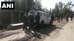 शोपियां में सुरक्षाबलों और आतंकवादियों के बीच मुठभेड़, सर्च अभियान जारी