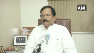 Union Minister Shripad Naik Tests COVID Positive, Urges All Who Came in Contact With Him to Isolate Themselves