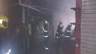 Fire Breaks Out at Mumbai's Crawford Market, 4 Fire Tenders Rushed to Spot