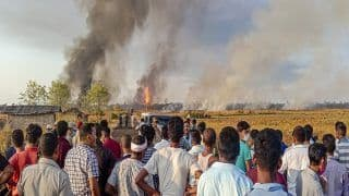 Fire at Baghjan Oil Well in Assam: CM Sonowal Speaks to Rajnath Singh, Seeks Help From Air Force
