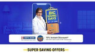 Flipkart Big Savings Days sale Offer: यहां मिल रहा है भारत के बेस्ट स्मार्टफोन्स को बेहद कम दामों में खरीदने का मौका, जानिए फ्लिपकार्ट की टॉप डील्स