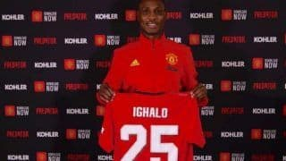 Manchester United Extend Nigerian Ighalo's Loan Deal