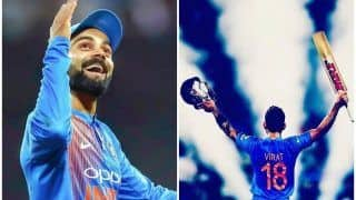 Fans Trend #10YearsofKingKohliInT20Is as India Skipper Completes a Decade in T20I Cricket