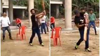 Sushant Singh Rajput Playing Cricket With Kids Shows His Down-to-Earth Nature, Video Goes Viral