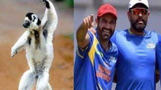 Irfan Compares His Bowling Action to Sifaka, Yuvi's Response is Epic | POSTS