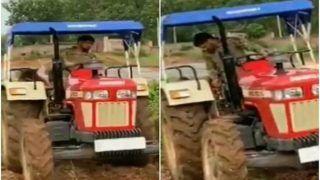 MS Dhoni Does Organic Farming at His Ranchi Farmhouse, Video Goes Viral | WATCH