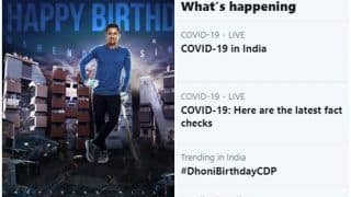 Here is Why #DhoniBirthdayCDP is Unusually Trending on Twitter | POSTS