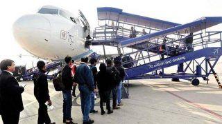 विमान के उड़ान भरने से पहले यात्री ने कहा, 'मैं कोरोना संक्रमित हूं', वापस मोड़ी गई इंडिगो की फ्लाइट और...