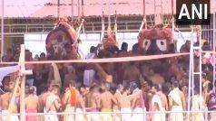 VIDEO: पुरी जगन्नाथ मंदिर में बिना श्रद्धालुओं के स्नान पूर्णिमा, पुजारियों ने नहीं पहने मास्क