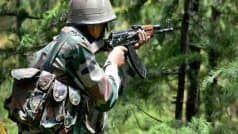 जम्मू-कश्मीर में आर्मी ने LOC पर घुसपैठ कर रहे तीन आतंकियों को मार गिराया
