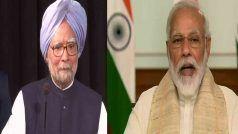 Covid-19 संकट पर पूर्व पीएम Manmohan singh ने लिखा प्रधानमंत्री Narendra Modi को पत्र, दिए 5 अहम सुझाव