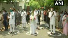 Video: अमित शाह की वर्चुअल रैली के विरोध में राबड़ी देवी ने तेजस्वी- तेज प्रताप संग बजाई थाली