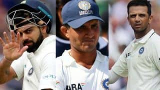On this day sourav ganguly rahul dravid and virat kohli debut in test cricket 4063284