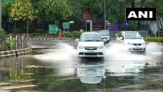 Delhi, Adjoining Areas Lashed by Heavy Rain, Strong Winds