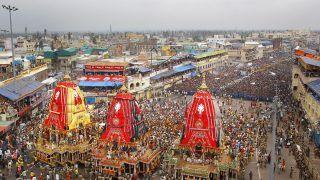 Rath Yatra 2020: Servitor at Jagannath Temple Tests Positive For Coronavirus in Puri
