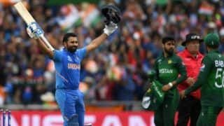 On this day in 2019 rohit sharam 140 guide india to beat arch rival pakistan in world cup 4059479