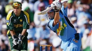 Sachin tendulkars innings against pakistan in 2003 is hard to be describe in words waqar younis 4063318