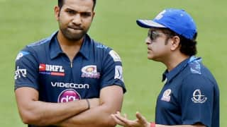 Rohit sharma is the best batsman but its not good to compare with sachin tendulkar sreesanth 4051582