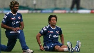 'Someone Will Have to Change His Run-up': Tendulkar Teases Malinga Over ICC's Saliva Ban