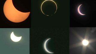 Solar Eclipse 2020: सूर्य ग्रहण की भारत और दुनिया के कई देशों से सामने आईं ये फोटोज