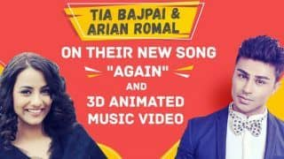 Tia Bajpai And Arian Romal Talk About Their New Album 'Upgrade' And New Single 'Again'