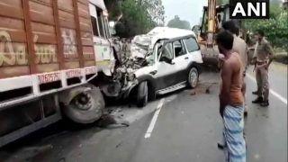 यूपी के प्रतापगढ़ में ट्रक- स्कार्पियो के बीच भयंकर भिड़ंत, बिहार के 9 लोगों की मौत