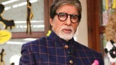 Amitabh Bachchan Tests Positive For COVID-19, Admitted to Nanavati Hospital